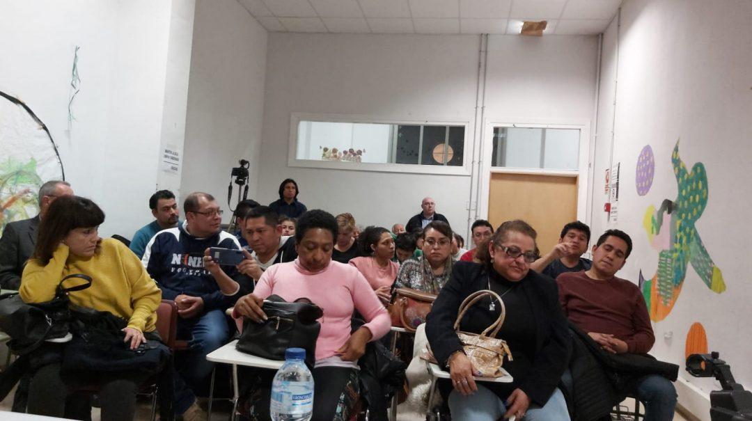 Presentación de la ley de la Ley de Ciudadanía Global-Universal y de la Emergencia Climática en Zaragoza